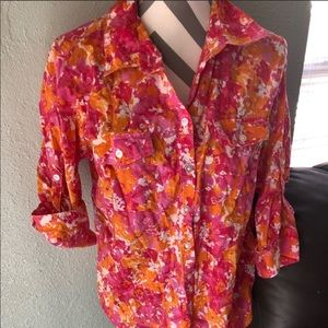 Croft and borrow size large button down